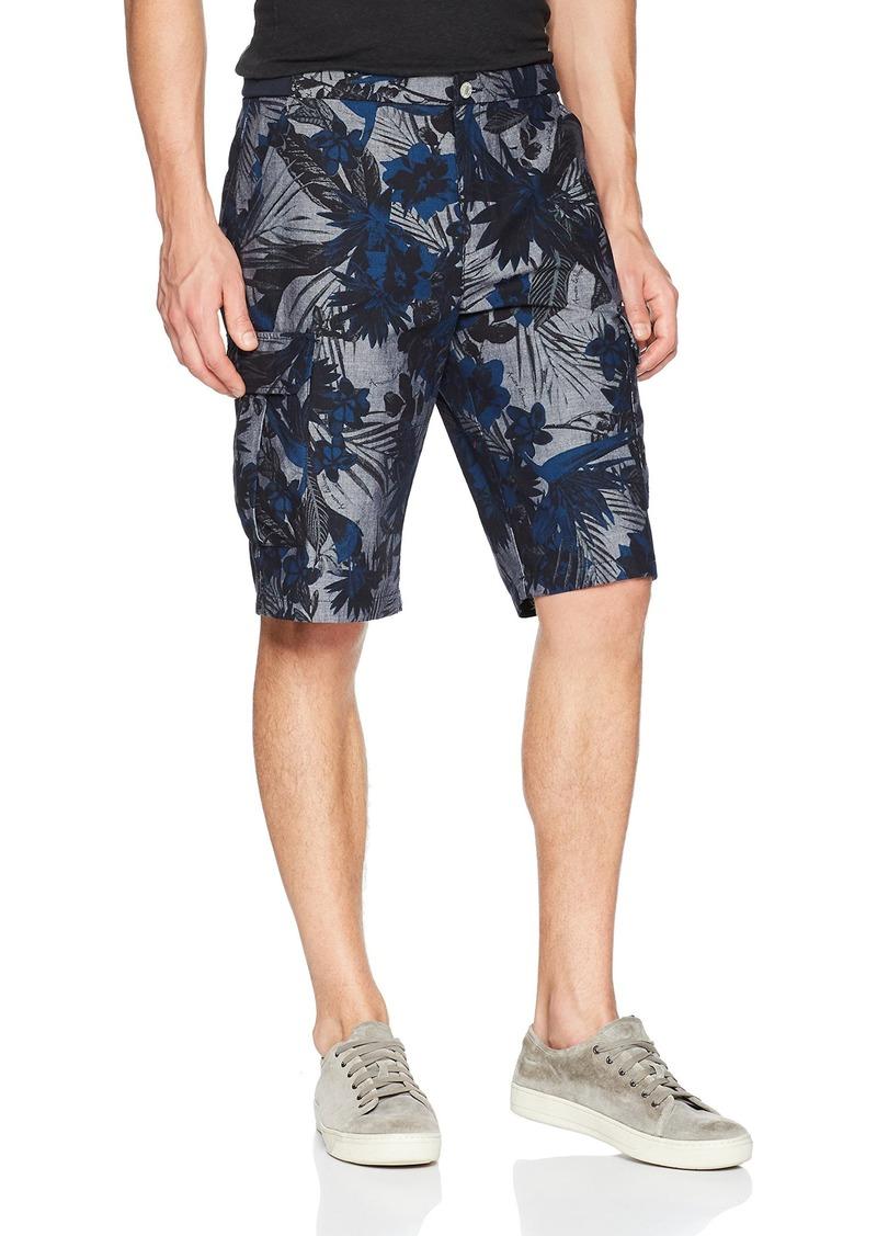 A X Armani Exchange Men's Tropical Print Shorts