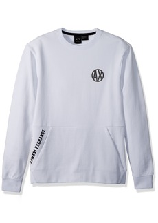 A|X Armani Exchange Men's Urban Pull Over with Crew Neck  M
