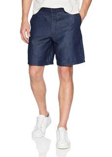 A|X Armani Exchange Men's Washed Denim Style Shorts Indigo