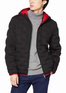 A|X Armani Exchange Men's Zip Up Down Jacket with Hood  XL
