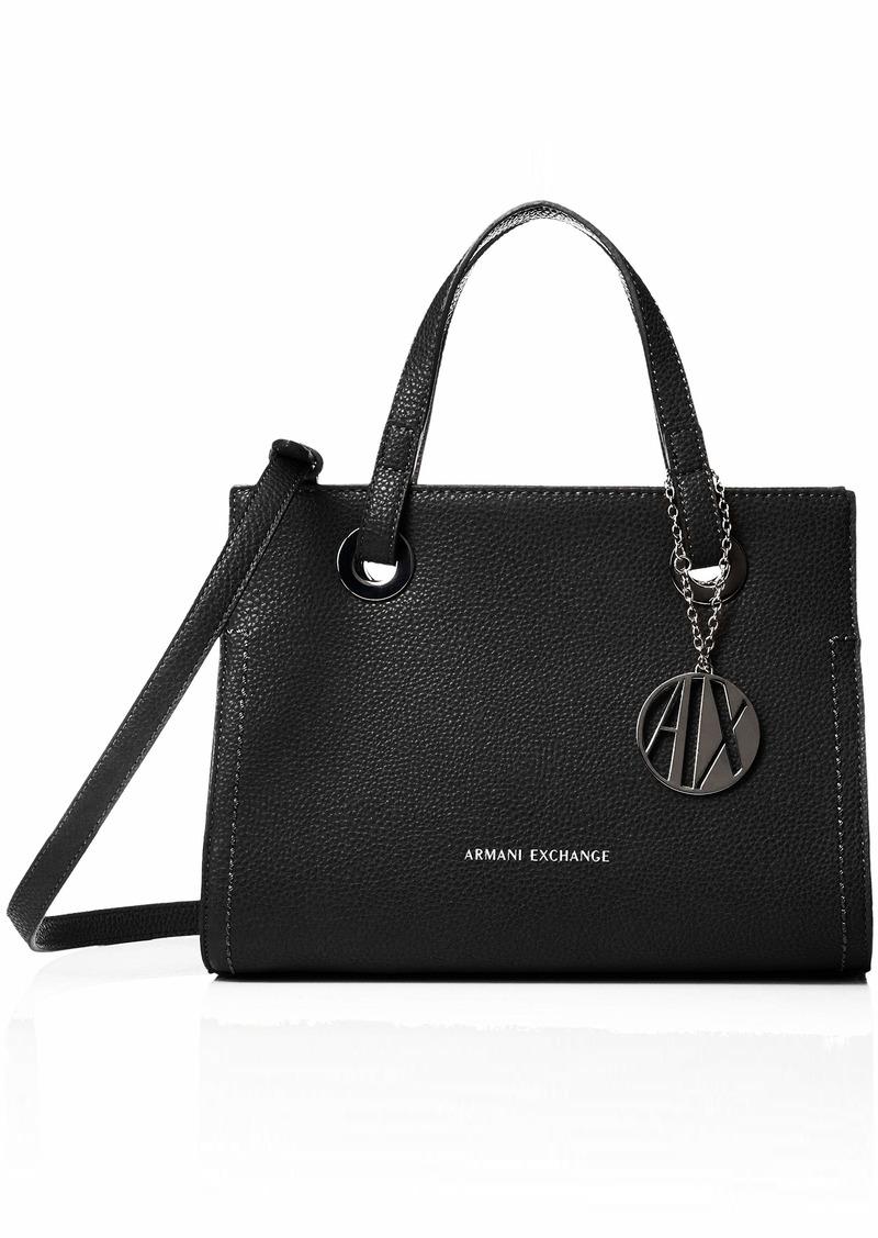 A|X Armani Exchange Small Handbag Nero-Black 90