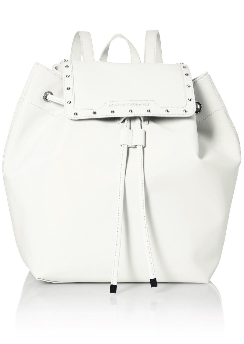A|X Armani Exchange Studded Backpack