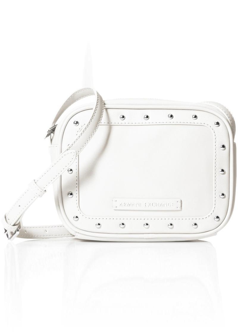 A|X Armani Exchange Studded Small Crossbody Bag