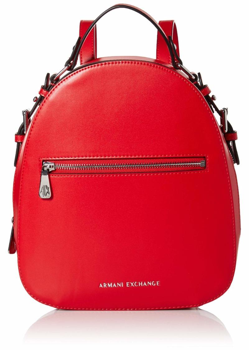 A|X Armani Exchange Top Handle Backpack Moulin Rouge 146