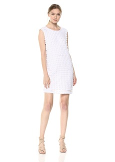 A|X Armani Exchange Women's 3-D Polka Dot Dress