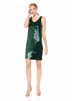 A|X Armani Exchange Women's All Over Sequins Dress