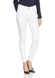 A|X Armani Exchange Women's Basic Dark and Faded Denim Wash 5 Pocket Skinny Jeans