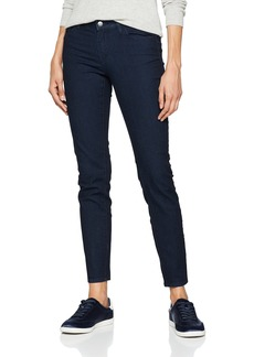 A|X Armani Exchange Women's Basic Dark Wash 5 Pocket Skinny Jeans