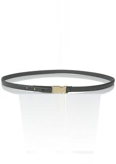 A|X Armani Exchange Women's Buckle Belt