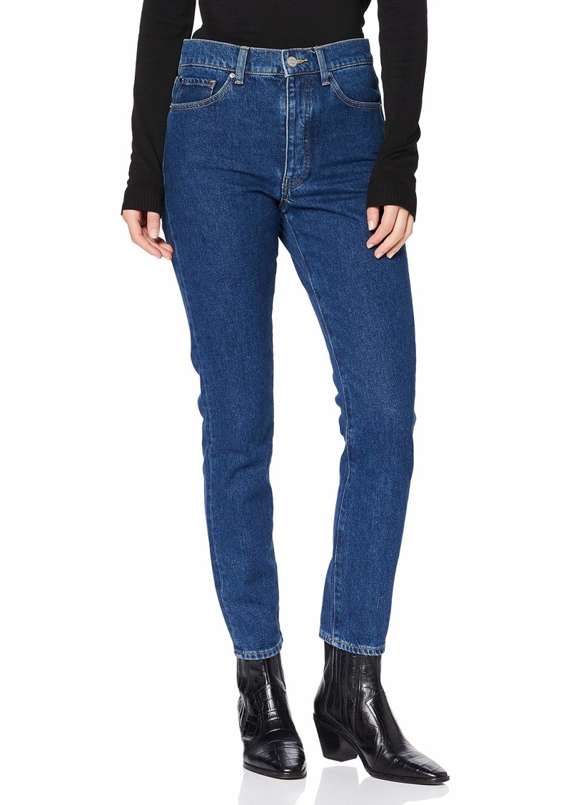 A|X Armani Exchange Women's Classic Five Pocket Denim Blue Jeans Indigo