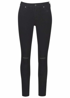 A|X Armani Exchange Women's Classic Five Pocket Skinny Fit Denim Jeans Black