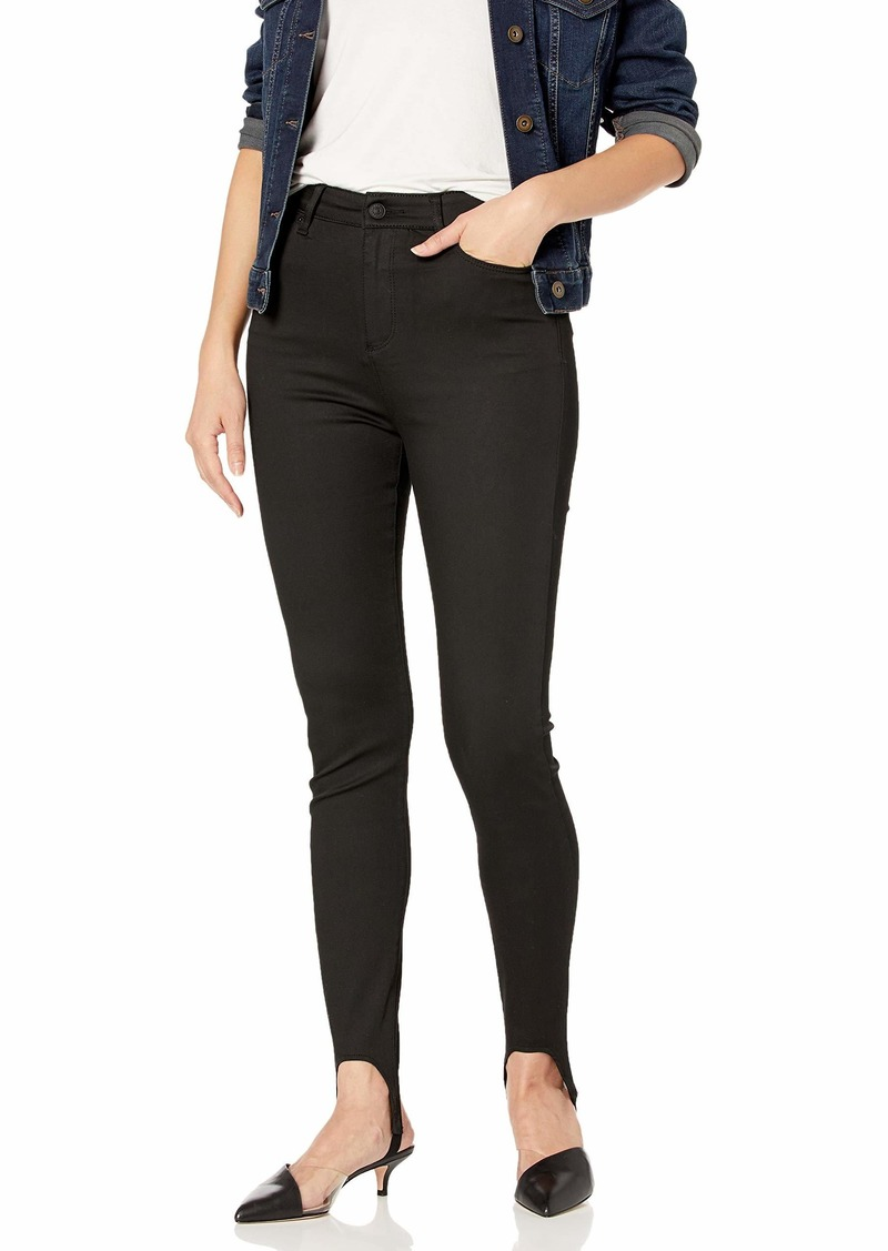 A|X Armani Exchange Women's Classic Five Pocket Skinny Fit Denim Jeans Black