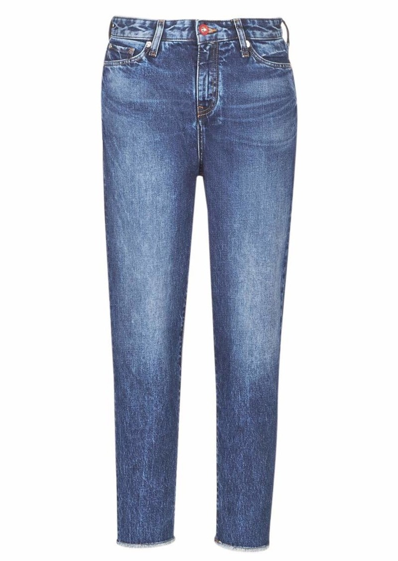 A|X Armani Exchange Women's Classic Five Pocket Skinny Fit Denim Jeans Indigo