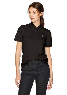 A|X Armani Exchange Women's Classic Logo Polo  L