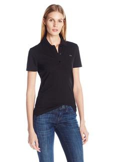 A X Armani Exchange Women's Classic Logo Polo Shirt