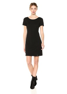 A|X Armani Exchange Women's Classic Slim Work Dress  M