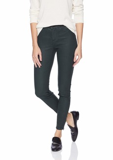 A|X Armani Exchange Women's Coated Moto Jegging