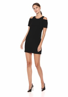 A|X Armani Exchange Women's Cold Shoulder Dress