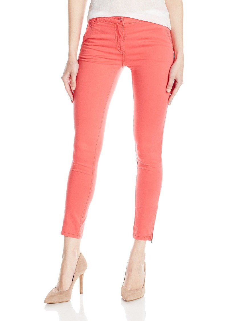 A|X Armani Exchange Women's Colored Soft Satin Skinny Jeans