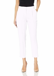 A|X Armani Exchange Women's Crepe Classic Structured Trouser Off