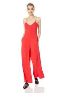 A X Armani Exchange Women's Crepe Jumpsuit