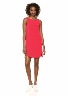 A|X Armani Exchange Women's Cross Back Shift Dress