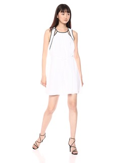 A|X Armani Exchange Women's Cut-Out Tank Dress