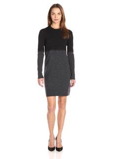 A|X Armani Exchange Women's Degrade Long Sleeve Dress