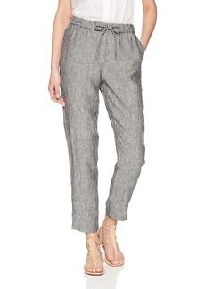 A X Armani Exchange Women's Denim Drawstring Trouser