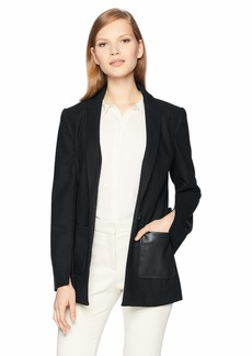 A|X Armani Exchange Women's Double Pocket Blazer