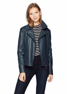 A X Armani Exchange Women's Eco Leather Jacket  M