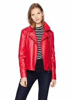 A|X Armani Exchange Women's Eco Leather Jacket  S
