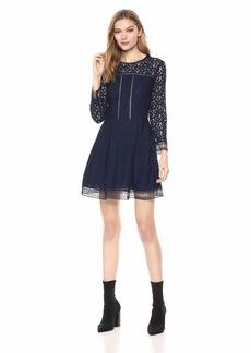 A|X Armani Exchange Women's Express lace Dress