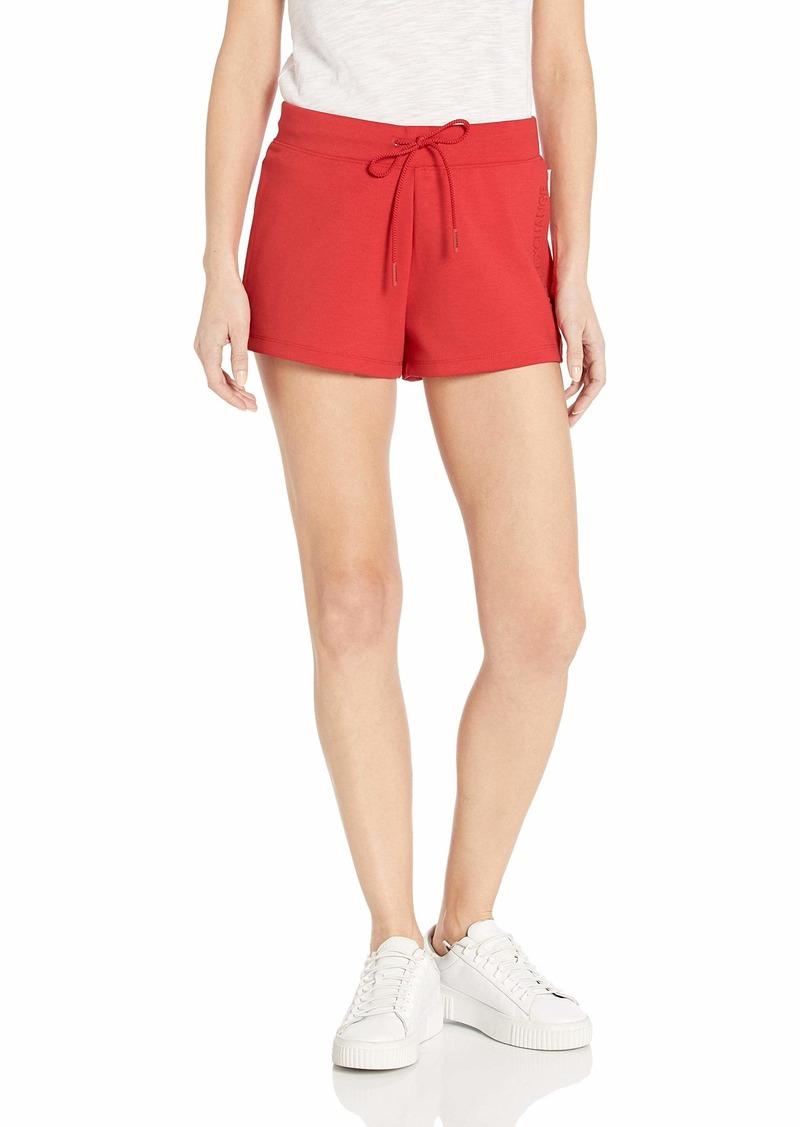 A|X Armani Exchange Women's Faded Logo Sweat Shorts  S