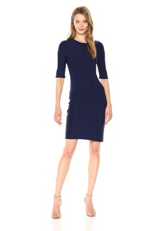 A|X Armani Exchange Women's Fitted Interlock Dress  M