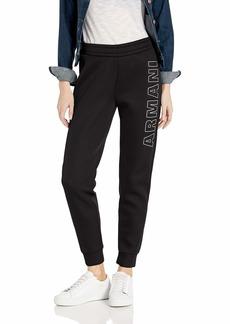 A|X Armani Exchange Women's Jersey Straight Leg Pant  XL
