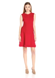 A|X Armani Exchange Women's Knit Sleeveless Dress