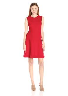 A|X Armani Exchange Women's Knit Sleeveless Dress