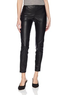 A|X Armani Exchange Women's Leather Inspired Leggings