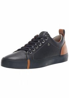 A|X Armani Exchange Women's Leather Low Top Sneaker Navy+Cognac 3M Medium EU ( US)