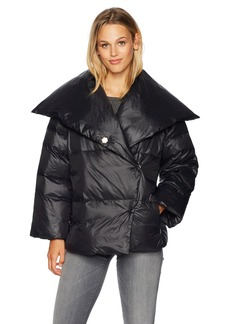 A|X Armani Exchange Women's Lightweight Oversized Down Jacket  L