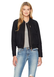A|X Armani Exchange Women's Lightweight Twill Bomber Jacket  XS