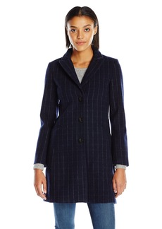 A|X Armani Exchange Women's Long Lapel Coat