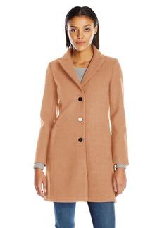 A X Armani Exchange Women's Long Lapel Coat