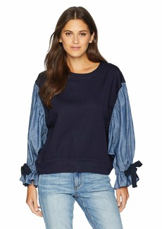 A|X Armani Exchange Women's Long Sleeve Blouson  M