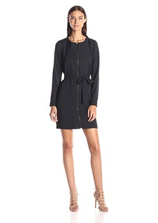 A|X Armani Exchange Women's Long Sleeve Dress with Tie