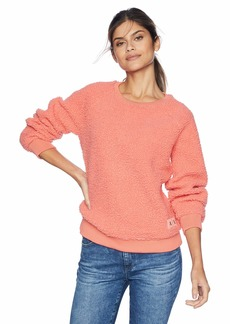 A|X Armani Exchange Women's Long Sleeve Pullover Sweatshirt CAIPIROSKA XL