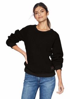 A X Armani Exchange Women's Long Sleeve Pullover Sweatshirt  XS
