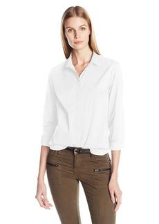 A|X Armani Exchange Women's Long Sleeve Woven Top