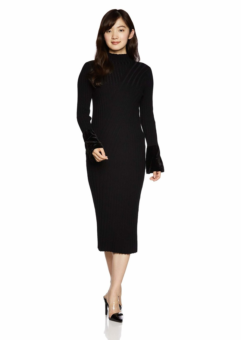 A|X Armani Exchange Women's Matte Knit Dress  M